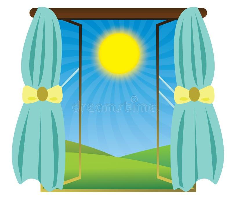 Lucidare di Sun illustrazione vettoriale