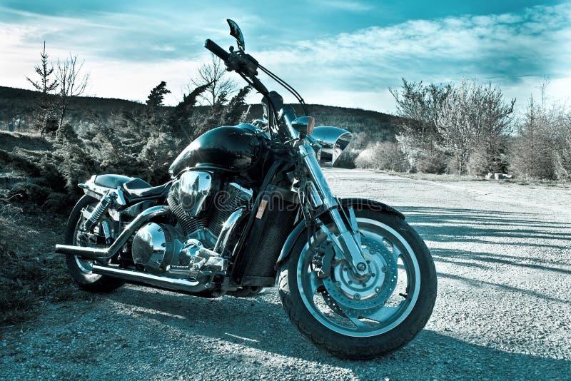 lucido esterno del motociclo fotografia stock