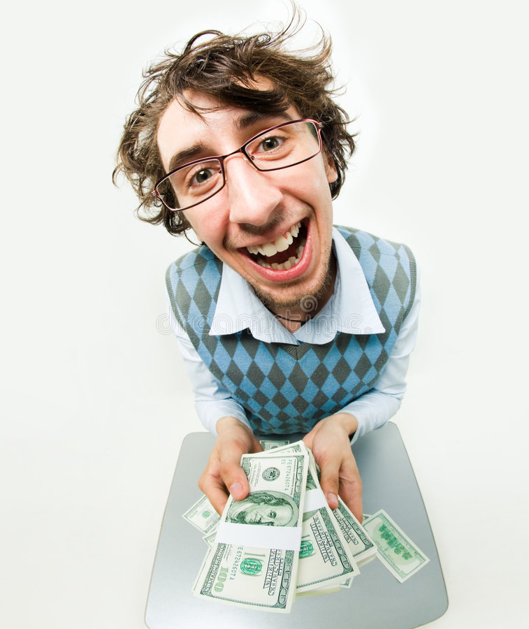 Luck in lottery stock photo