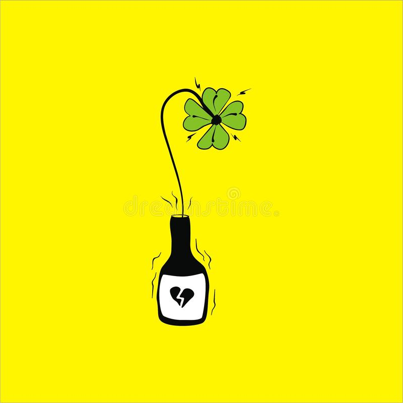 Luck love stock image