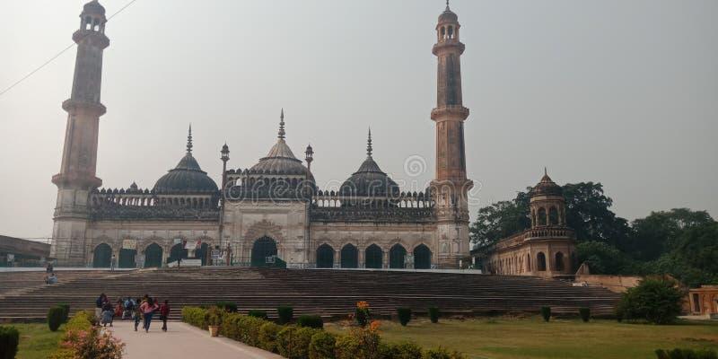 Lucknow är det mest berömd av Indien royaltyfria foton