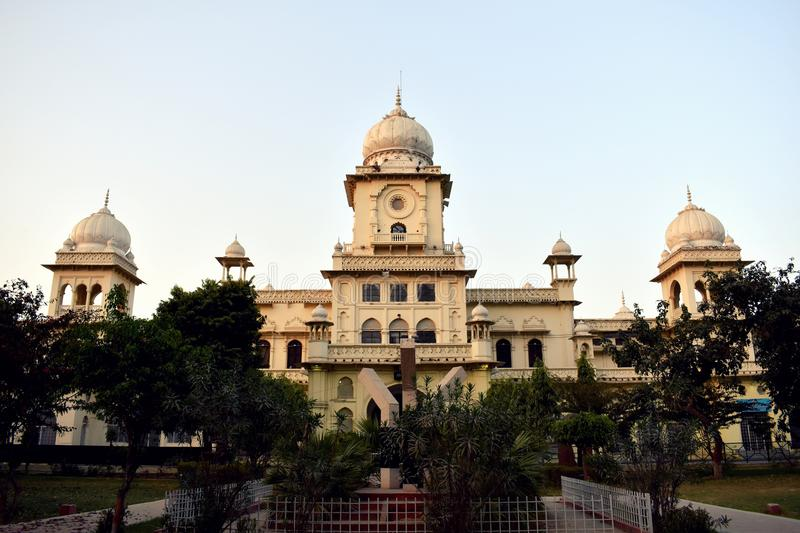 Lucknow University Building, India. This is the main building of University of Lucknow, India. It was built in 1921 before the independence of India. This royalty free stock images