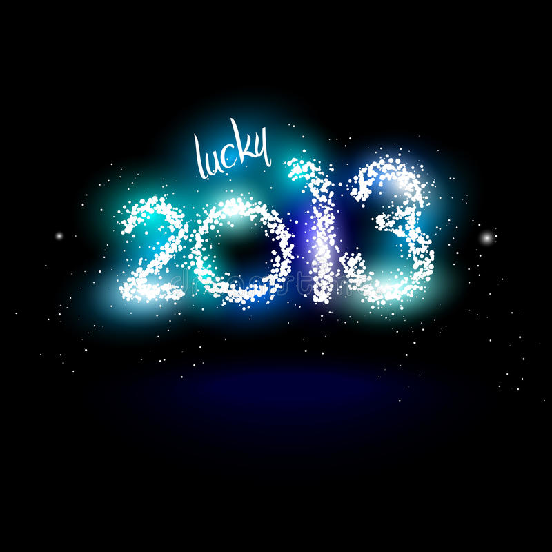 Lucky 2013 stock images