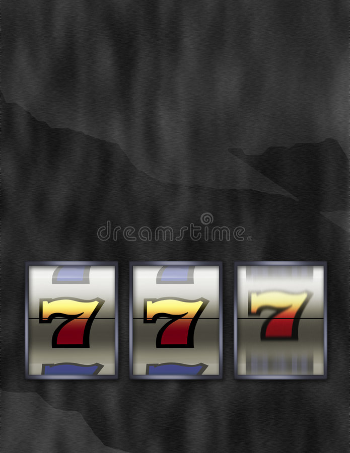 Download Lucky 777 Jackpot Slot Machine Stock Illustration - Image: 5254369