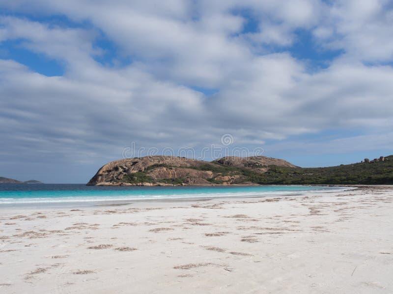 Lucky Bay, parque do Le Grand National do cabo, Austrália Ocidental foto de stock