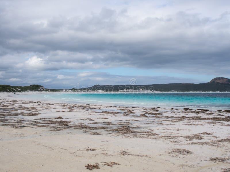 Lucky Bay, parque do Le Grand National do cabo, Austrália Ocidental imagens de stock