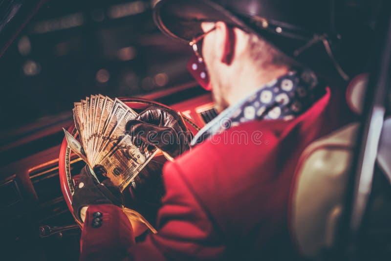 Lucky Casino Winner immagini stock libere da diritti