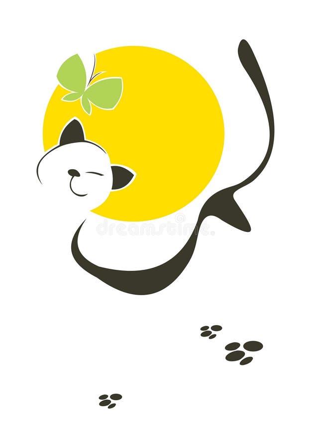 Lucky Cat ilustración del vector