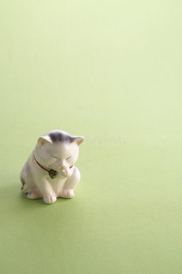 Lucky cat doll royalty free stock photos