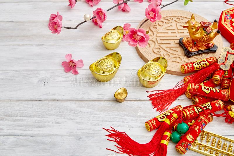Lucky Chinese New Year 2019 fotos de stock