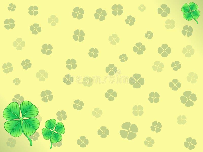 Lucky Clover Wallpaper stock fotografie