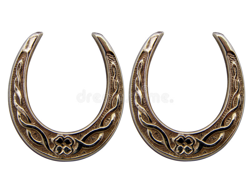 Lucky horse shoes