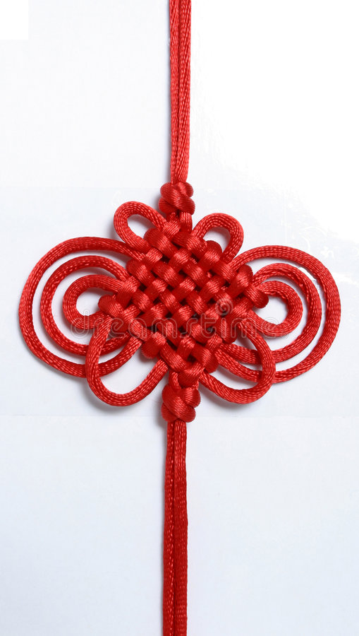 Download Lucky Knot stock image. Image of string, background, elegant - 1815399