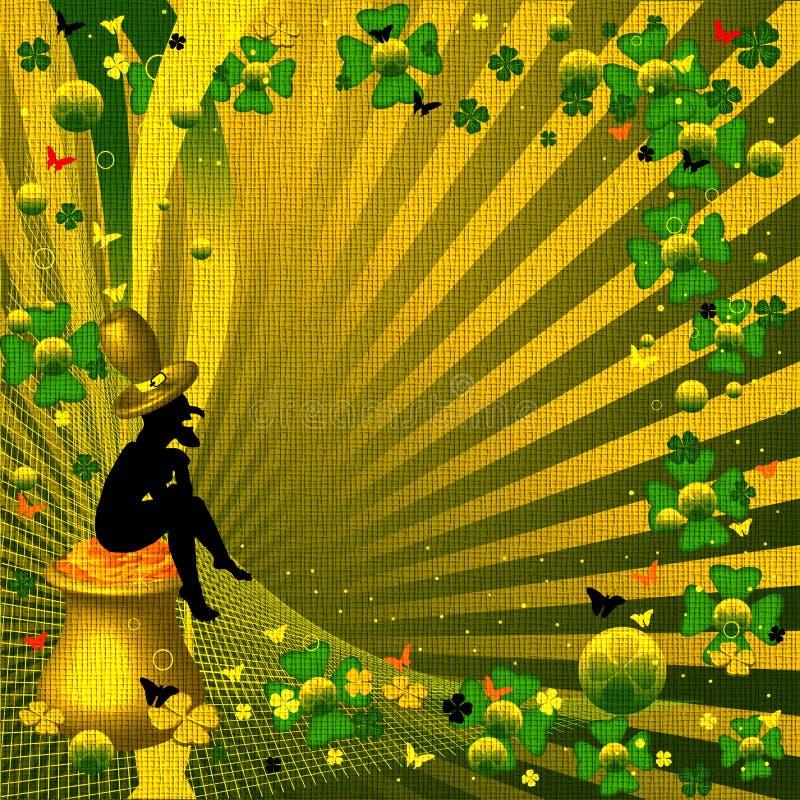 Lucky leprechaun stock photos