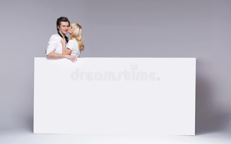 Download Lucky Guy Hugged By His Beloved Girlfriend Stock Image - Image: 29781389