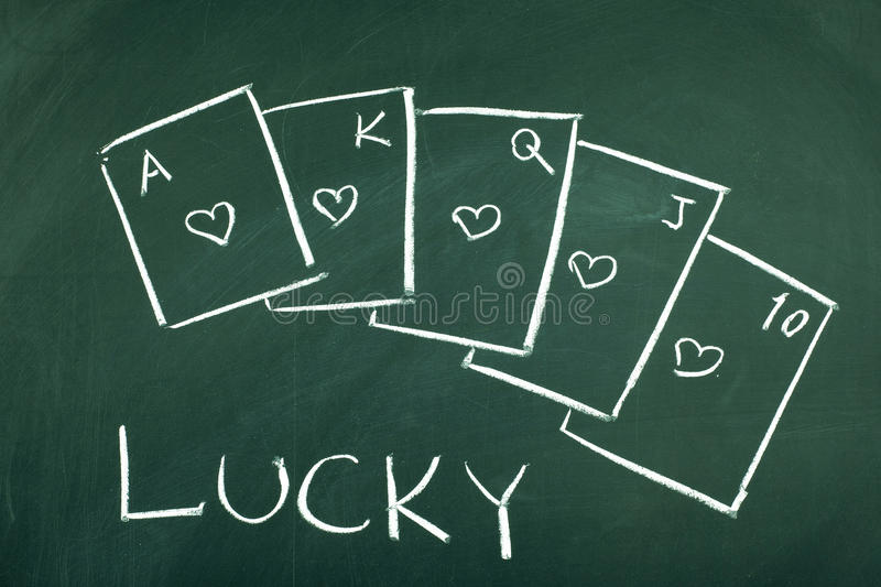 Lucky royalty free stock images