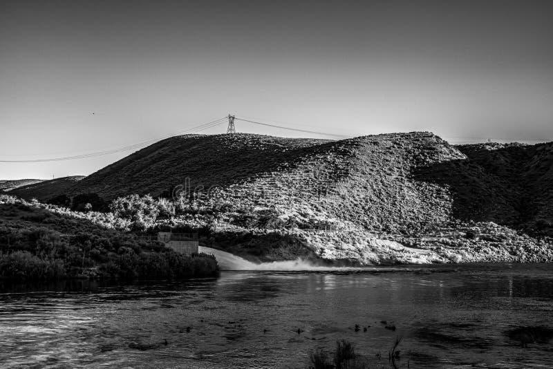 Lucky Peak Dam photographie stock
