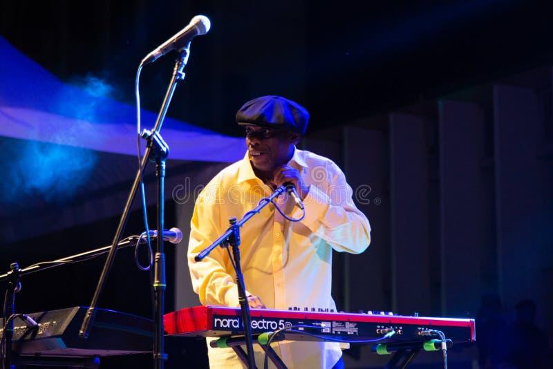 Lucky Peterson, Etats-Unis Kriol Jazz Festival images libres de droits