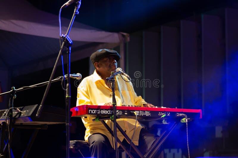 Lucky Peterson, Etats-Unis Kriol Jazz Festival photo libre de droits