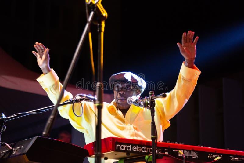 Lucky Peterson, Etats-Unis Kriol Jazz Festival photos stock