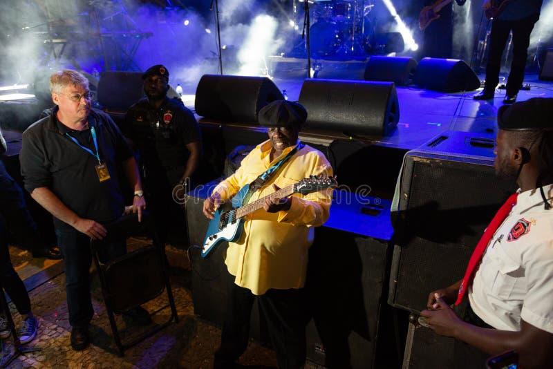Lucky Peterson, Etats-Unis Kriol Jazz Festival photographie stock
