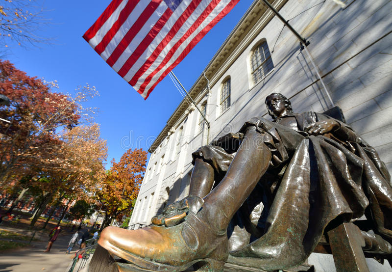 The Lucky Shoe. Of John Harvard royalty free stock images
