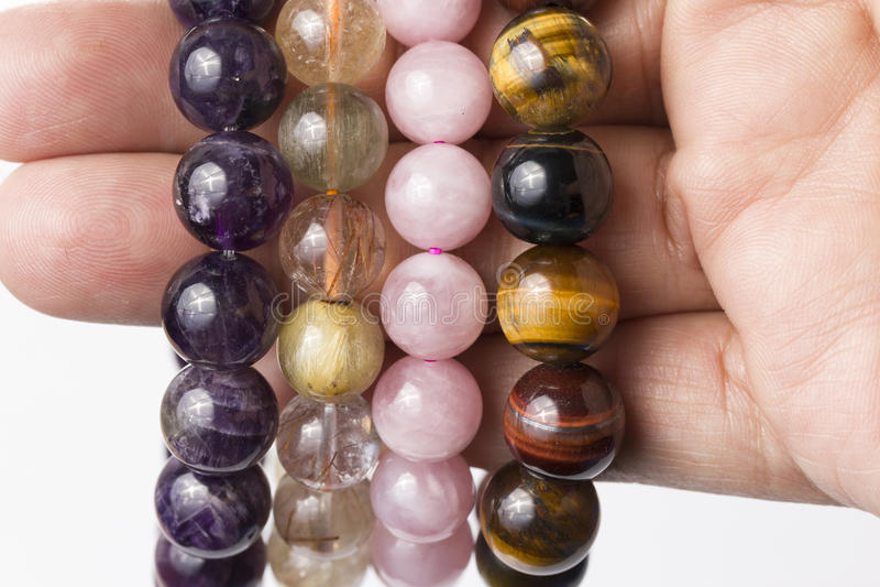 Lucky Stone Bracelet fotografia de stock royalty free