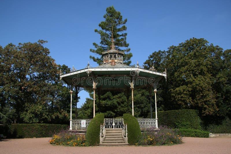 Lucon, Francja Jardin Dumaine, Vendee region, Jawni ogródy zdjęcia royalty free