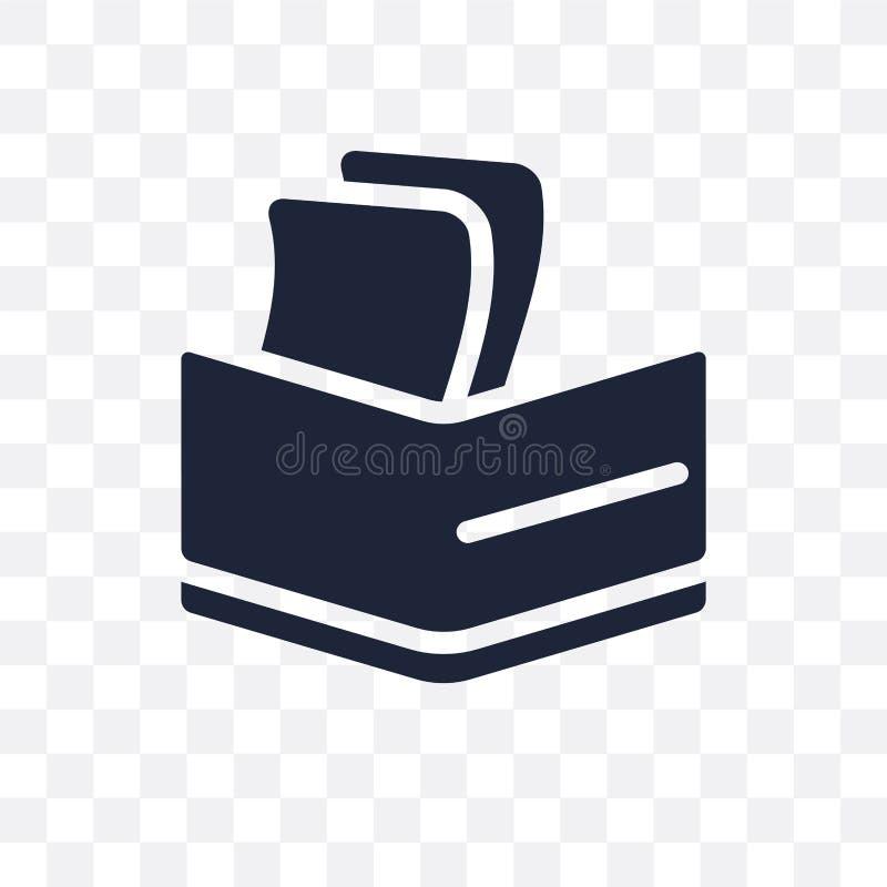 Lucra o ícone transparente Projeto do símbolo dos lucros do colo do sucesso ilustração stock