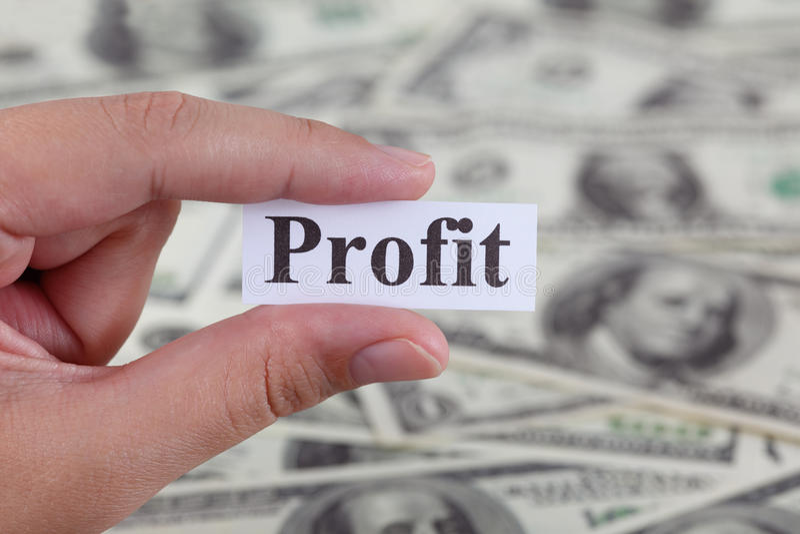 lucro imagens de stock royalty free