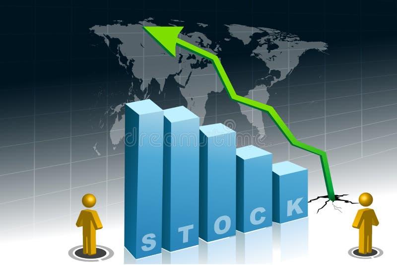 Download Lucro Conservado Em Estoque Ilustração Stock - Ilustração de diagrama, mapa: 16874277