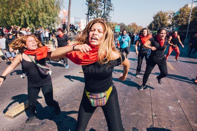 Lucro da educação do protesto dos estudantes fotografia de stock