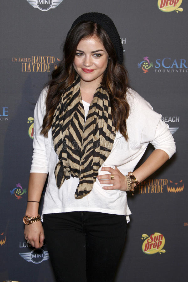 Download Lucy Hale editorial photography. Image of arriving, lucy - 22783052