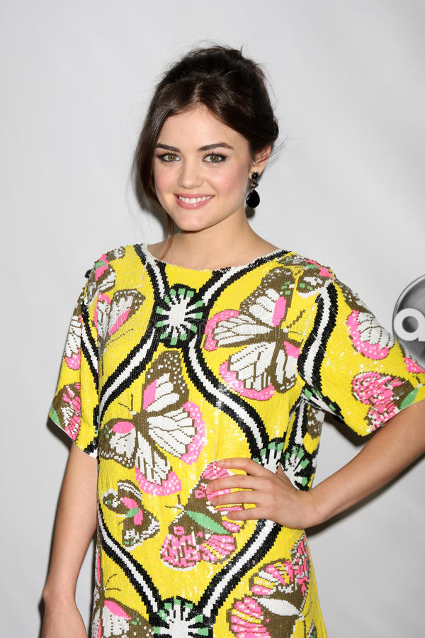 Download Lucy Hale editorial photography. Image of january, winter - 23107852