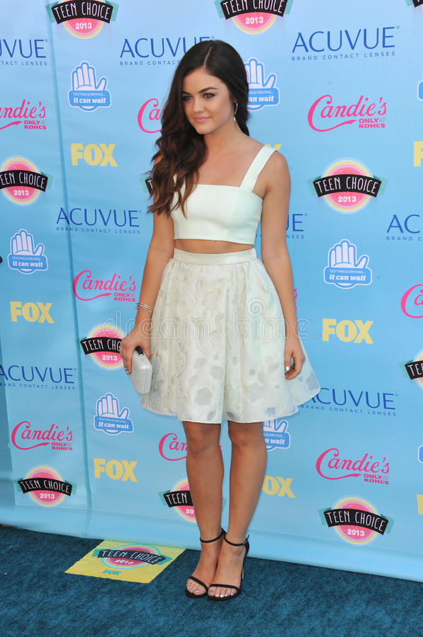 Lucy Hale stock image