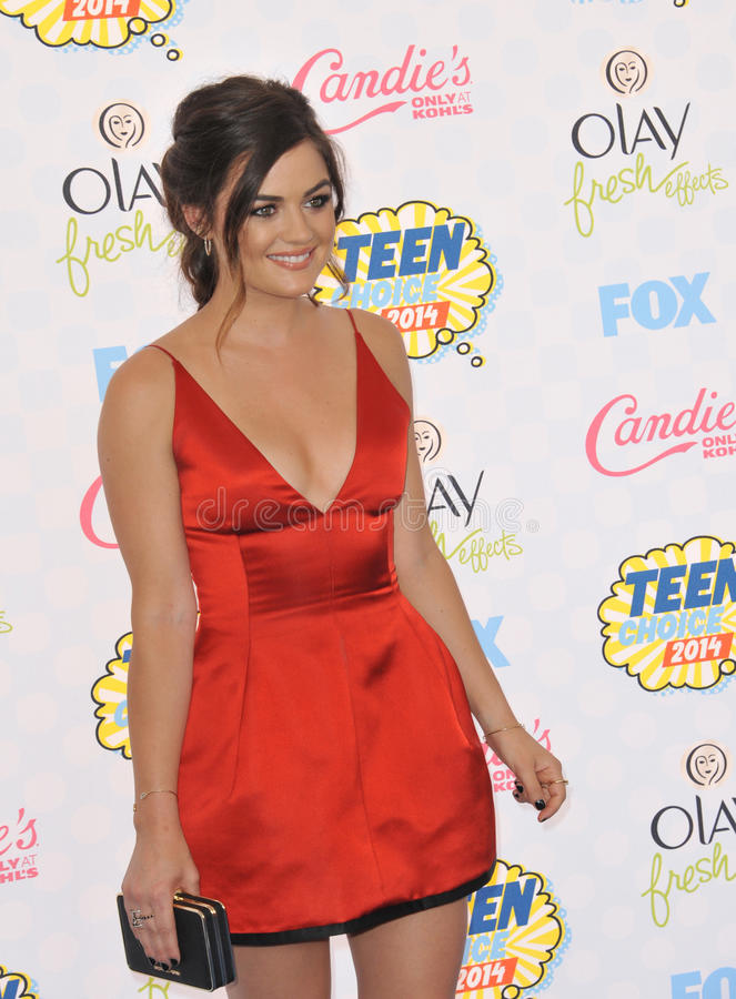 Lucy Hale royalty free stock photo