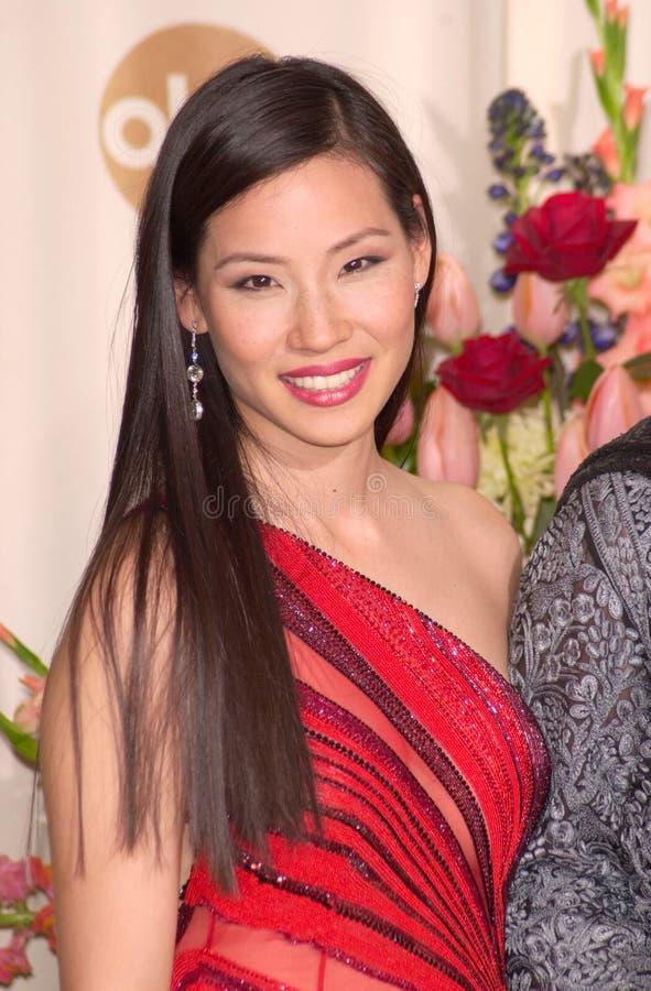 Lucy Liu stockbild