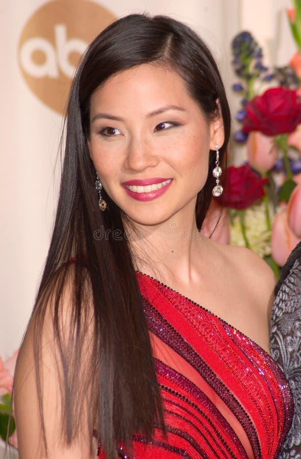 Lucy Liu fotos de stock