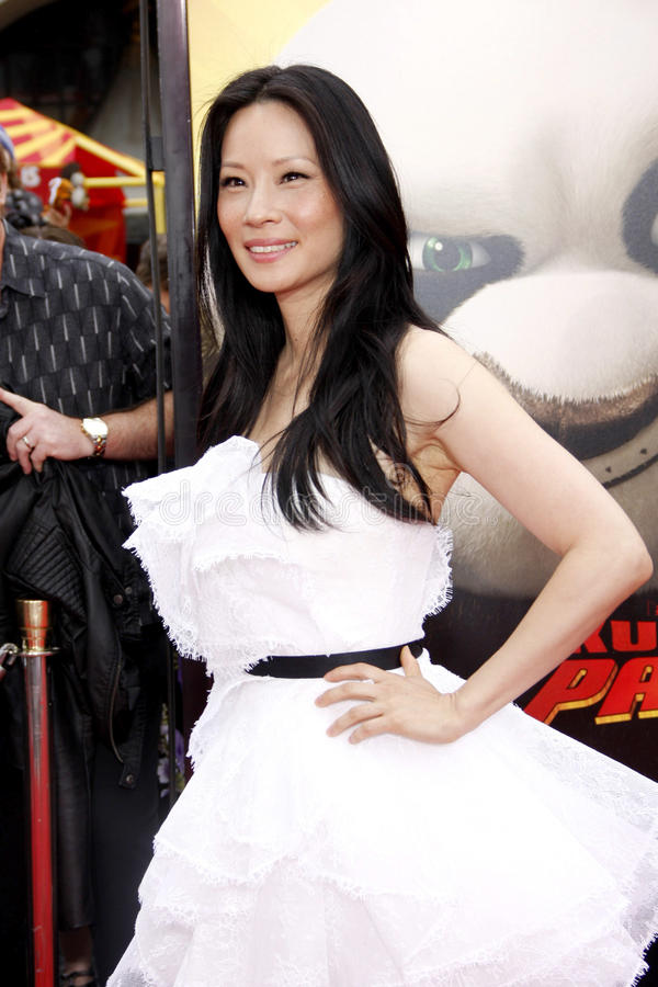 Lucy Liu foto de stock royalty free