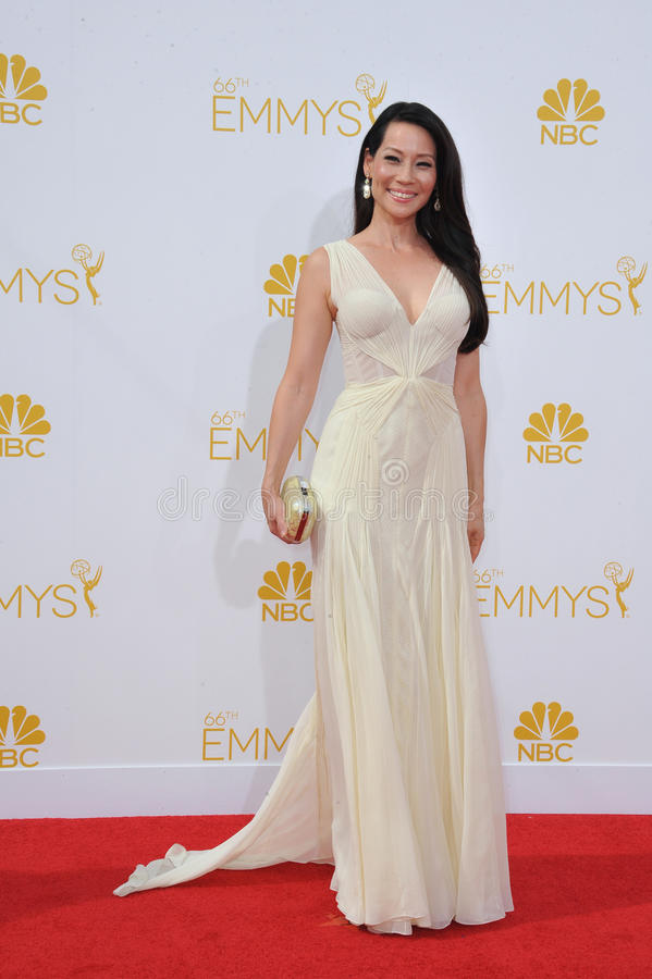 Lucy Liu royalty free stock images
