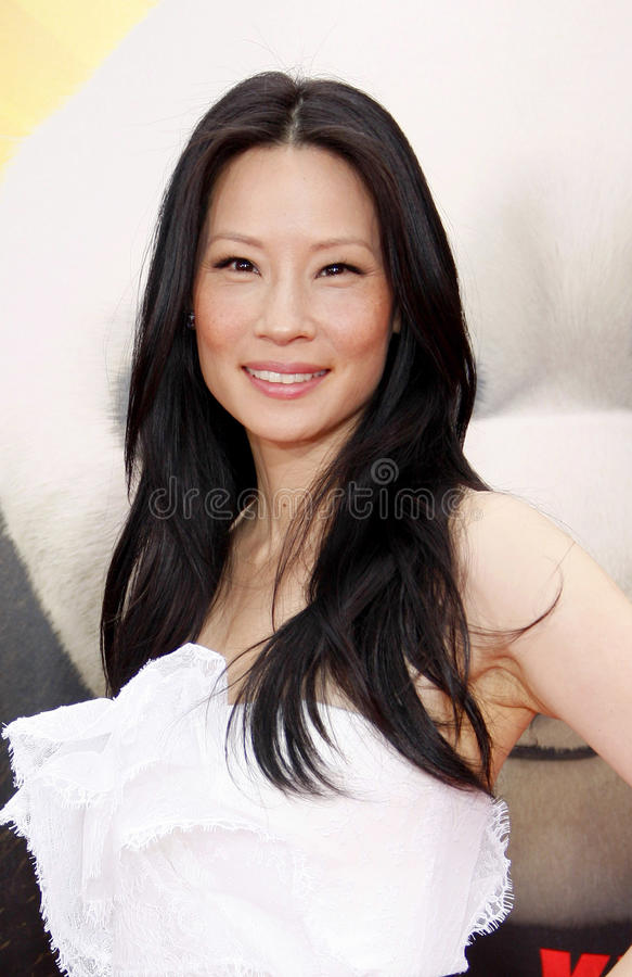 Lucy Liu royalty free stock photography