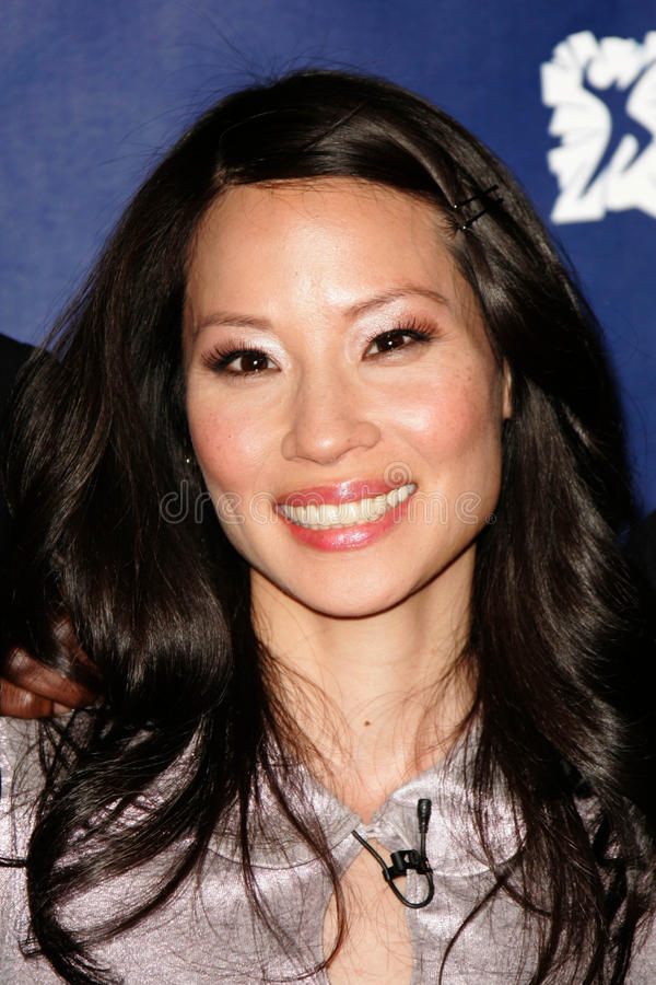 Lucy Liu. At the 2005 Reebok Human Rights Gala, UCLA, Westwood, CA 05-11-05 royalty free stock photography