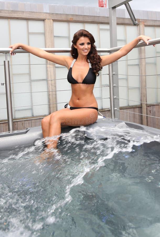 Lucy Mecklenburgh fotos de stock royalty free