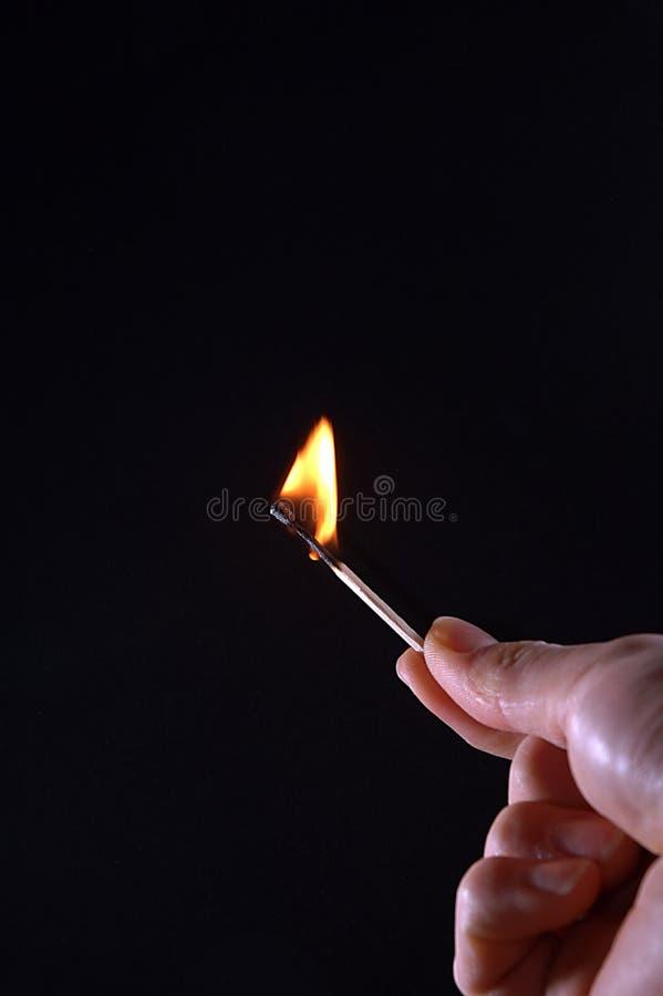 lucyfer spalania zdjęcie royalty free