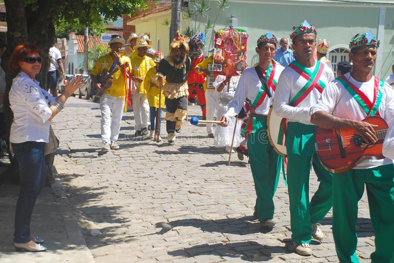 Lud przy ludu przyjęciem w Brazil_03 zdjęcie royalty free