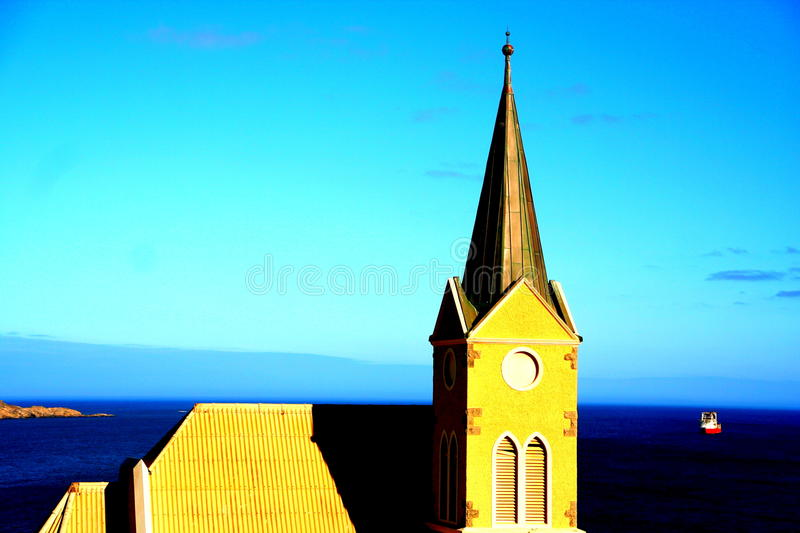 Luderitz holiday royalty free stock photography
