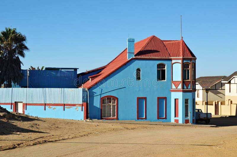 Luderitz, Namibia, África foto de archivo