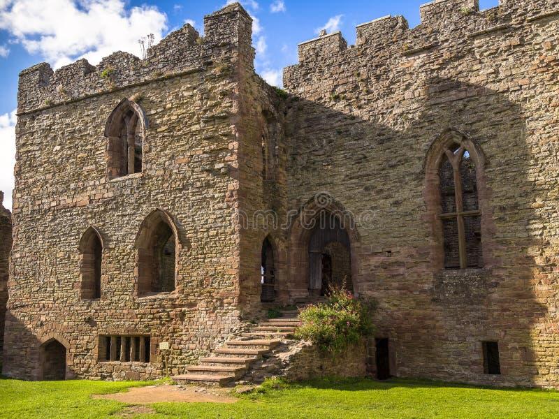 Ludlow Castle, England royalty free stock image