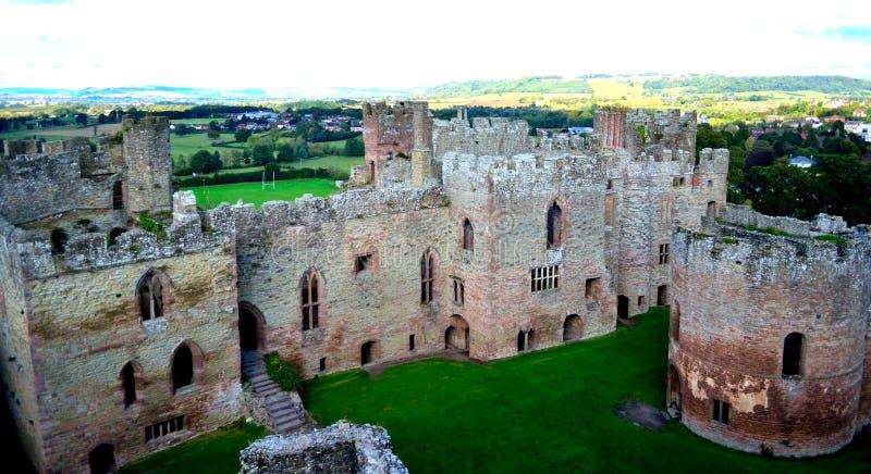 Ludlow Castle stock photography
