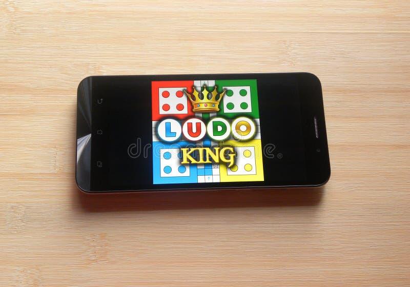 Ludo King app στοκ εικόνες